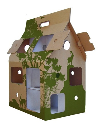1 Kidsonroof Recycle Printed Dolls House