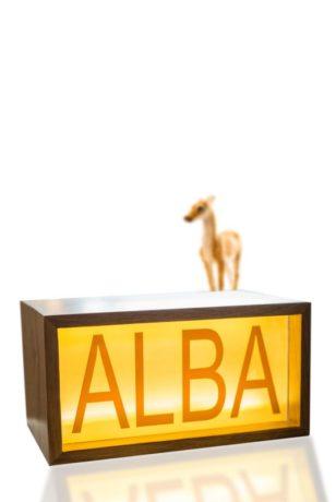 Leal Light Boxes Alba
