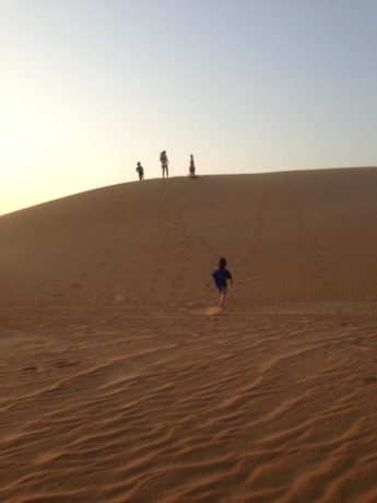 Dubai and the desert with kids- Pirouette blog