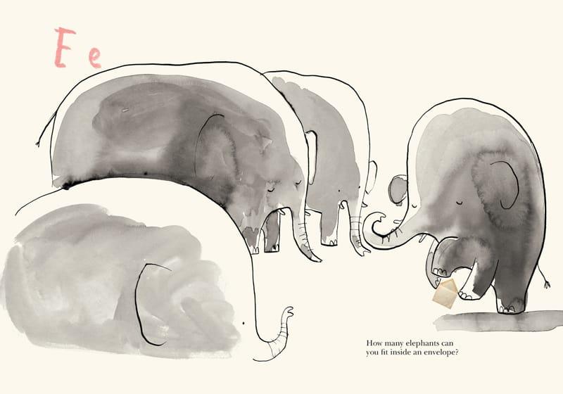 e for elephant - Once Upon an Alphabet