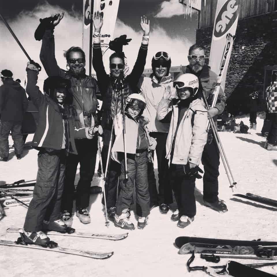 Rolando family ski holiday