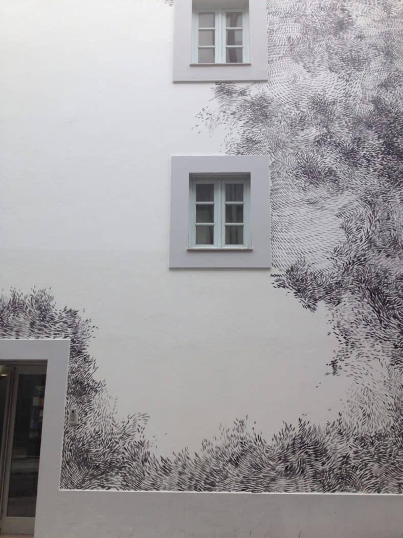 Beautiful patterned house Porto