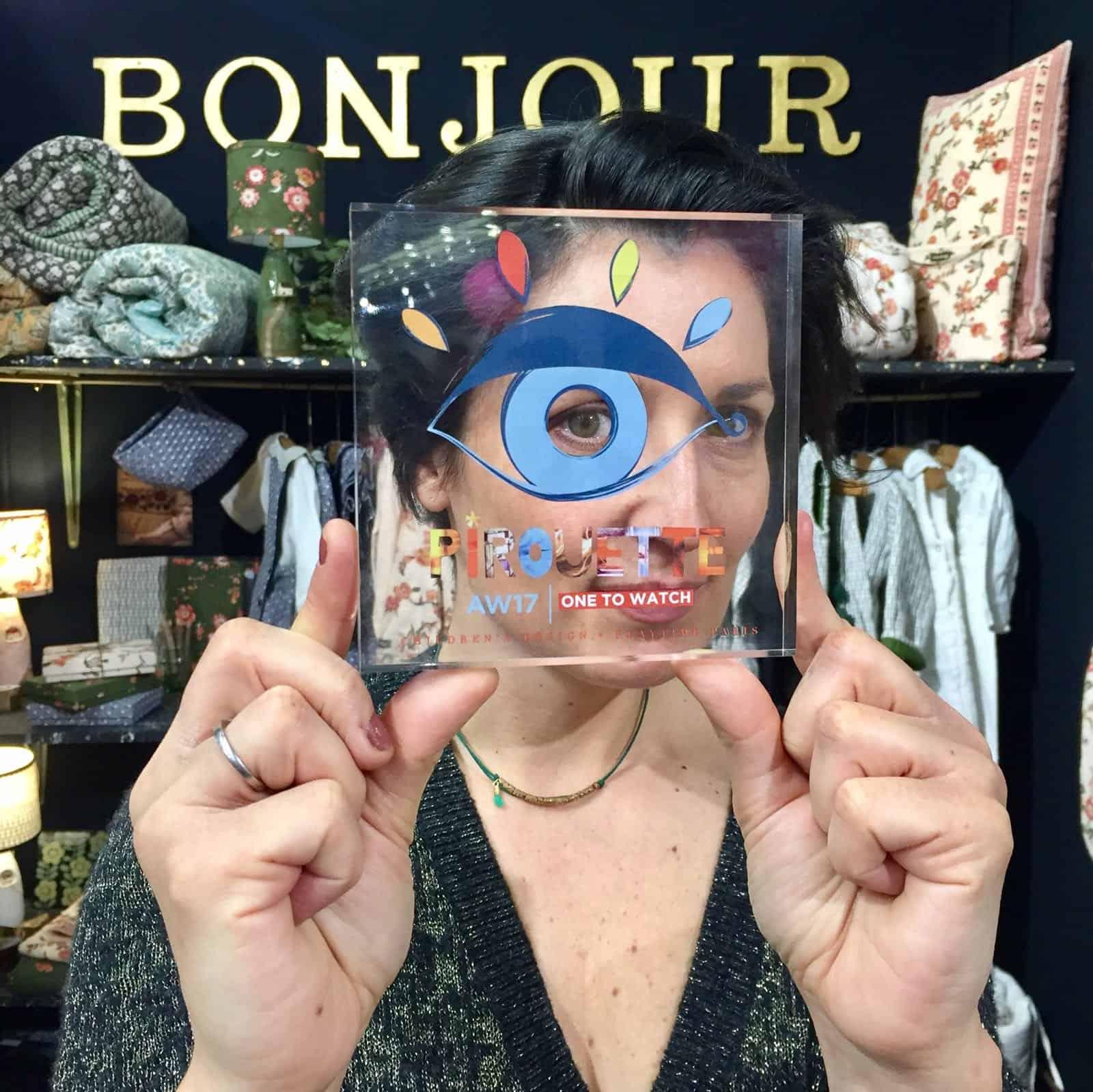 Anne Millet, designer and founder of BONJOUR.