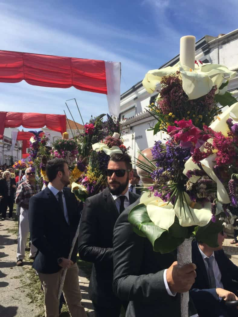 Festival of Flower Torches, São Bras de Alportel, Portugal