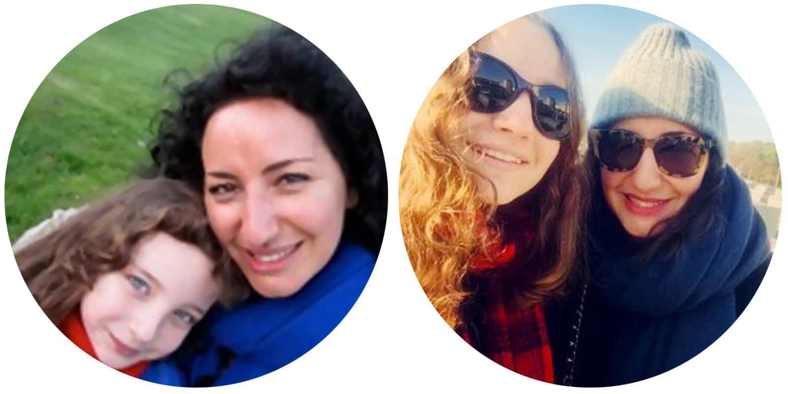 Mom&Child : Sabrina Palmisano & Hannah Gunzig 7 years later