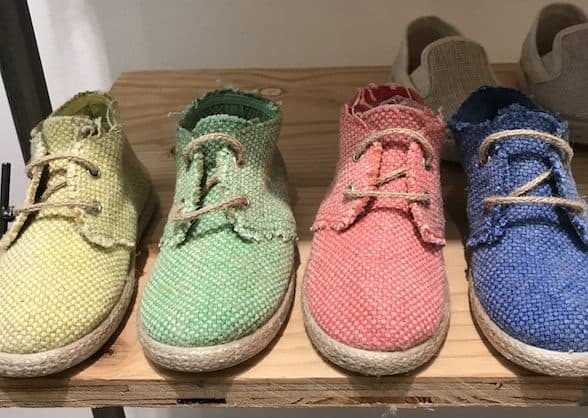 Trade Show Report: Playtime New York ss18 : handmade children's jute shoes by kiku