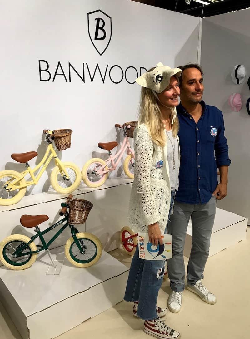 Banwood balance bikes for kids.