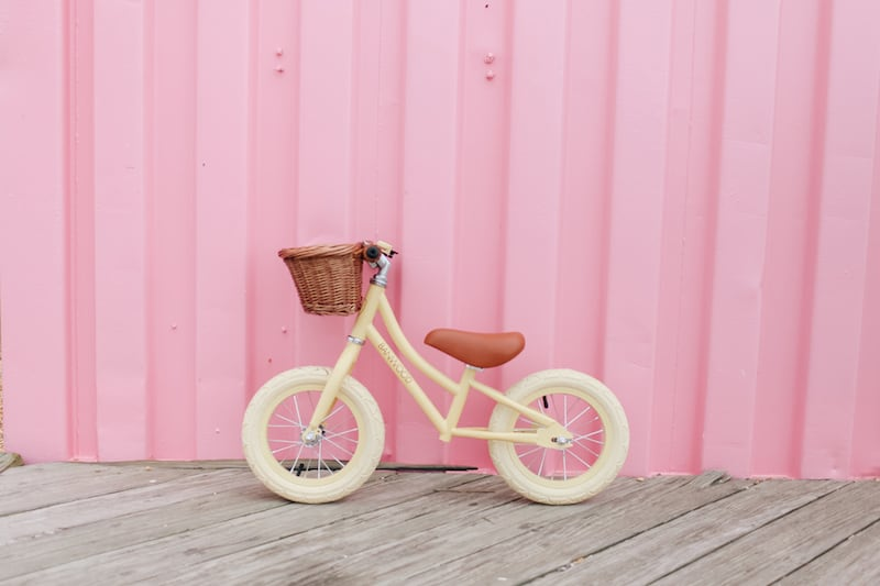 Banwood balance bikes for kids. Available in 2 designs and 6 colours