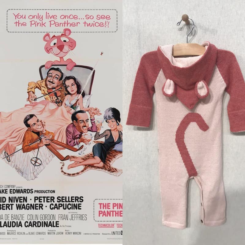 Oeuf pink panther suit
