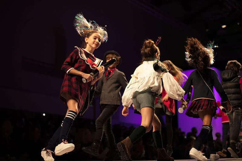 kid's fashion AW18 - Forque at kid's fashion from Spain runway show at Pitti Bimbo 86