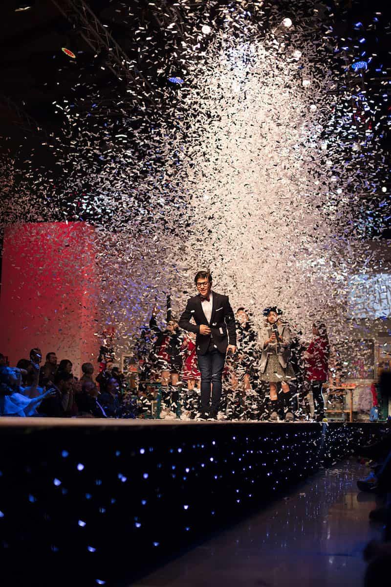kid's fashion AW18 - at kid's fashion from Spain runway show at Pitti Bimbo 86