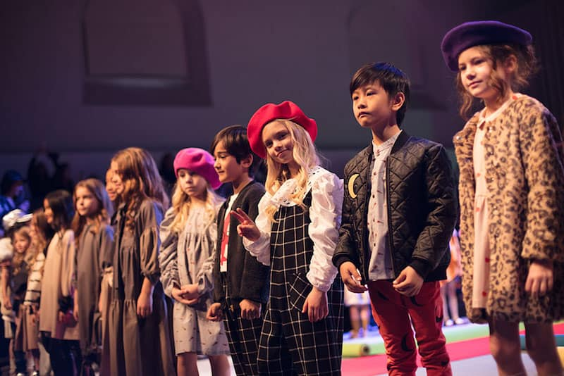 kid's fashion AW18 - Unlabel & Igloo+Indi at KidzFizz Colour Carpet runway show at Pitti Bimbo 86