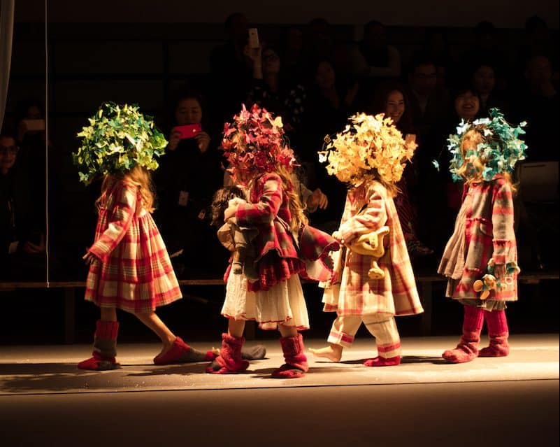 kid's fashion AW18 - Pero at the apartment runway show at Pitti Bimbo 86