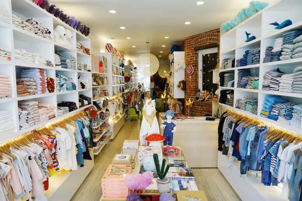 Yoya store New York. Children's fashion and lifestyle in the West village