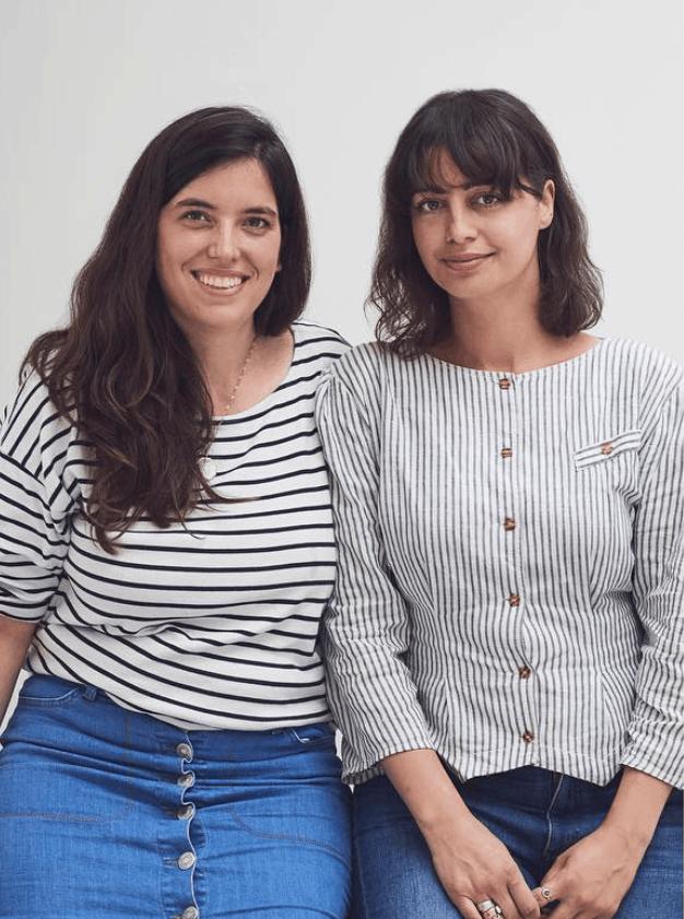 Rebecca & Alice, Forivor founders. Children's bedding and nightwear