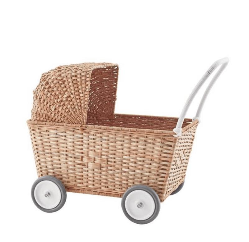Olliella Strolly - Natural rattan basket