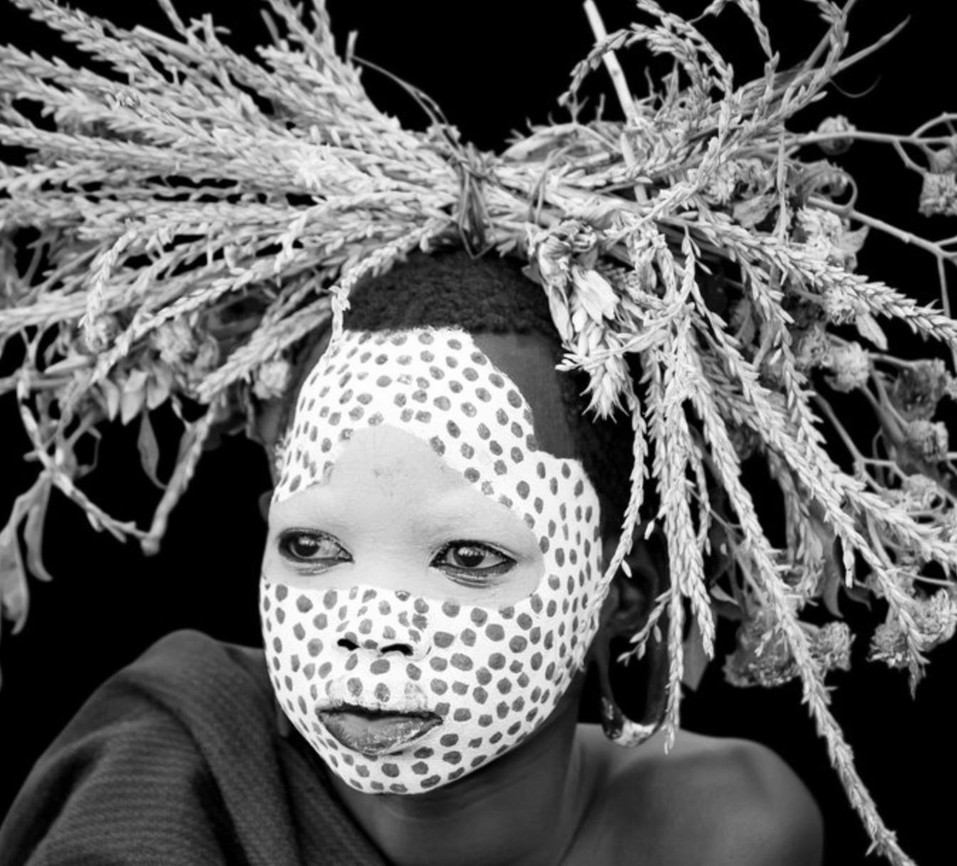 Giovanna Aryafara photography Suri Tribe BOBO - Young Suri boy