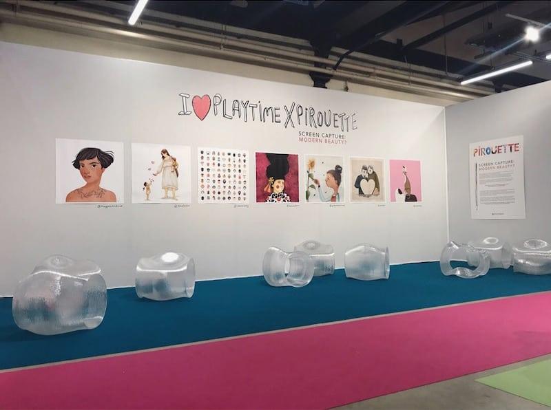 Pirouette Screen Capture: Modern Beauty - Playtime Paris #24 show report