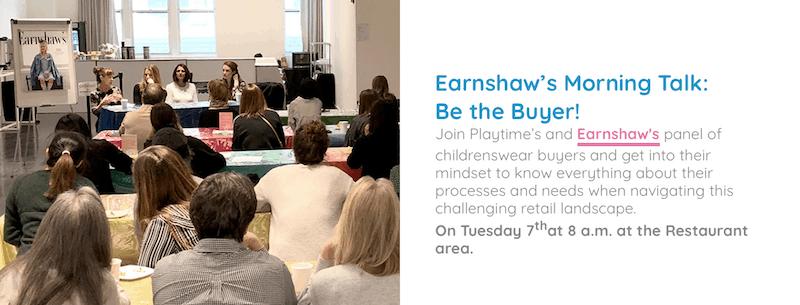 Earnshaw's talk