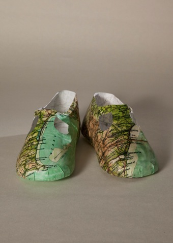 Baby shoe map 500