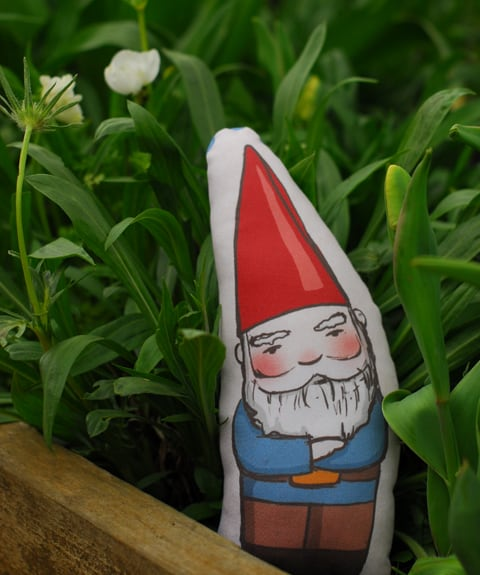 Gnome Cushion: Quirky, different and fun