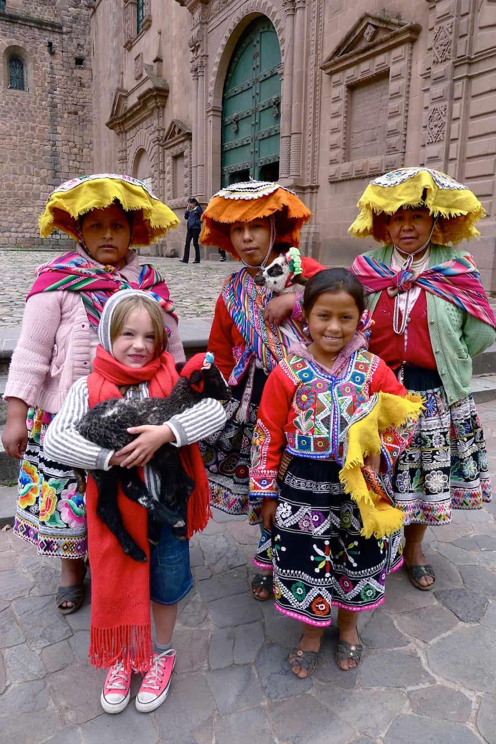 people in Peru