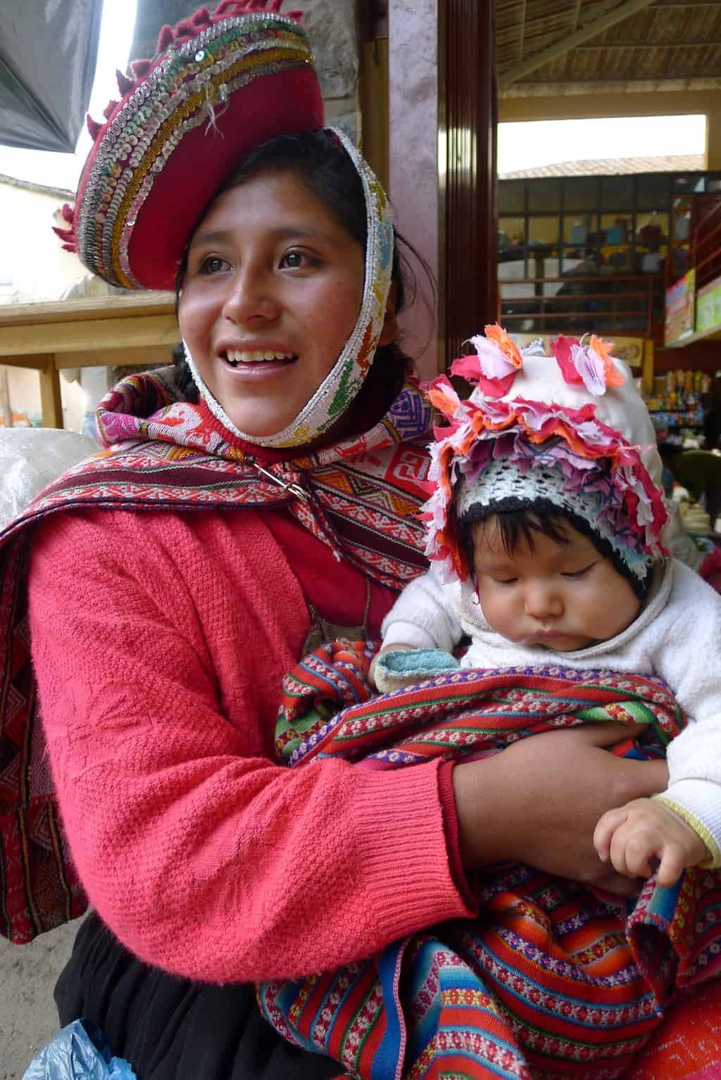 Peru mother and child