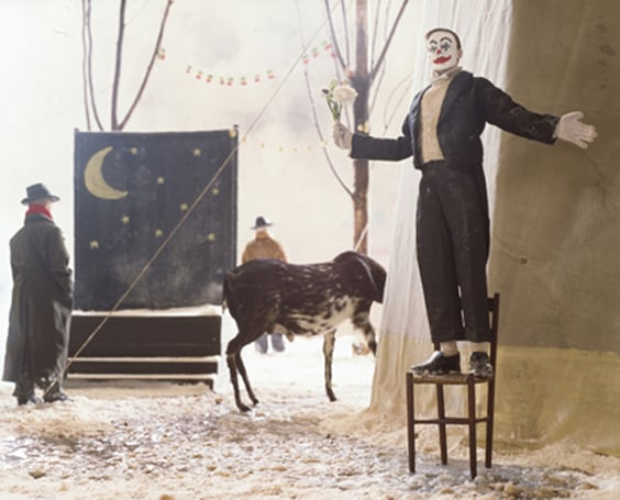 Paolo Ventura - Winter stories, clown and moon