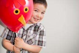 boy and ballon