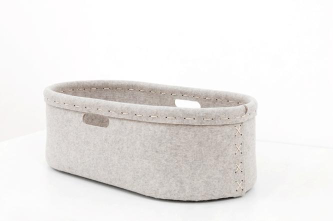 Nesta S Nest 100 Untreated Wool Felt Mose S Basket