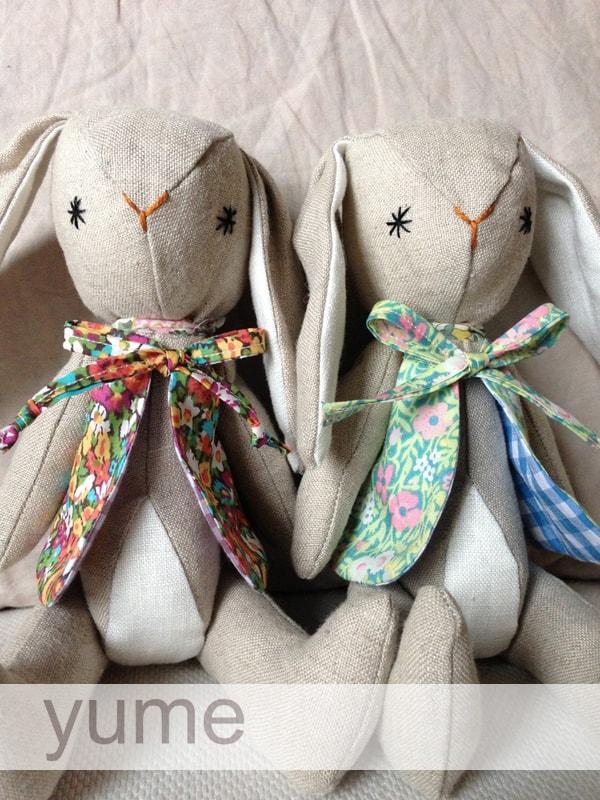yume- handmade bunnies