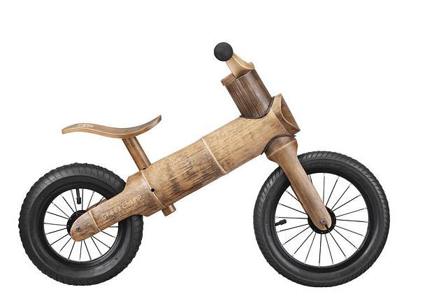 GreenChamp Bike : Bamboo!
