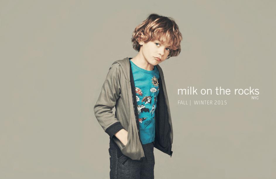 milk on the rocks
