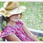 Brand profile - Smokks, girls dress -liberty print