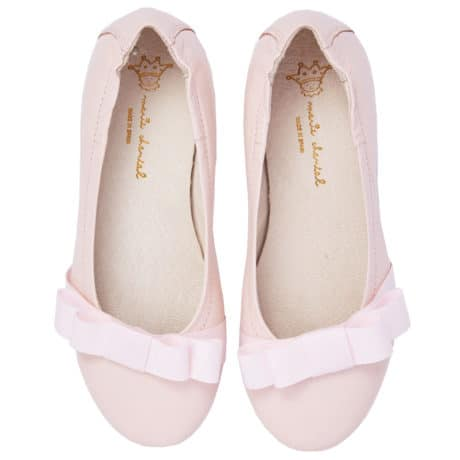 Christmas gift selection marie-chantal-olympia-bow-shoes-pink