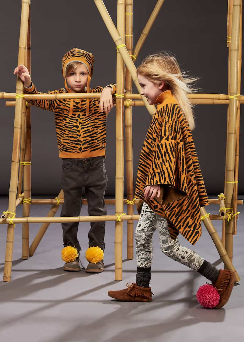 Bonnie Mob AW17 WILD tiger hoodie