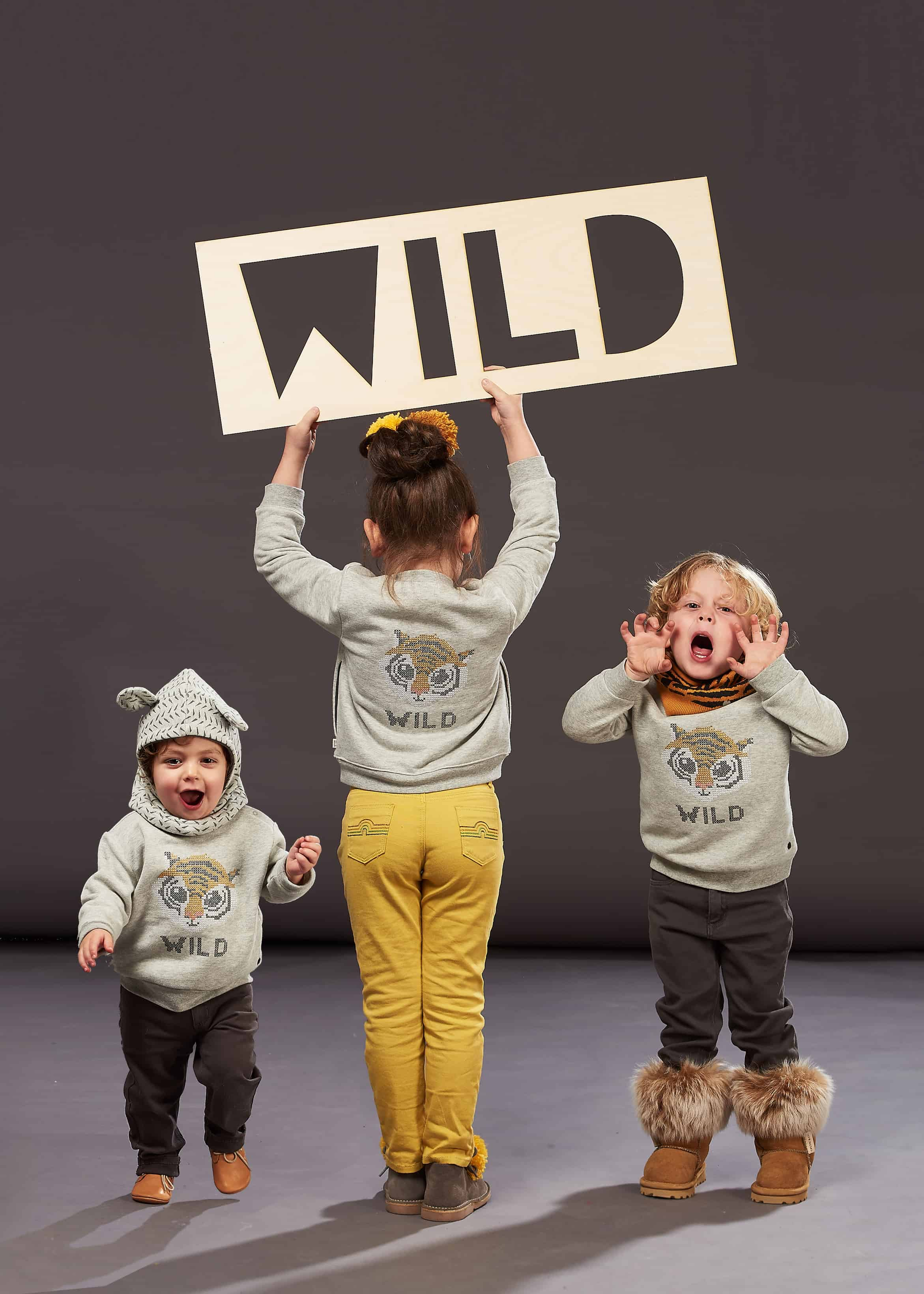 Bonnie Mob AW17 WILD tiger jumpers