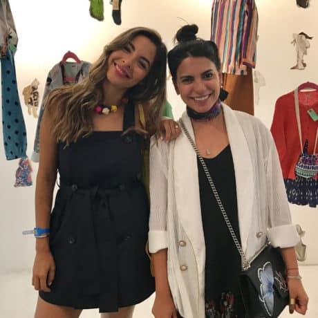 photographer Theresa Balderd with stylist Maria Montane