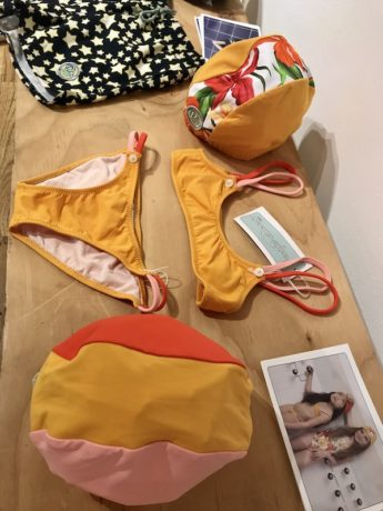Trade Show Report Playtime New York ss18 : swimming costumes by Pacific Rainbow