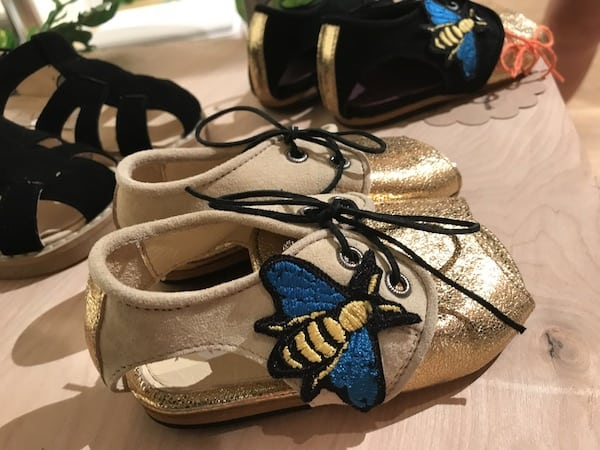 Trade Show Report: Playtime New York ss18 : handmade children's shoes by Evffa