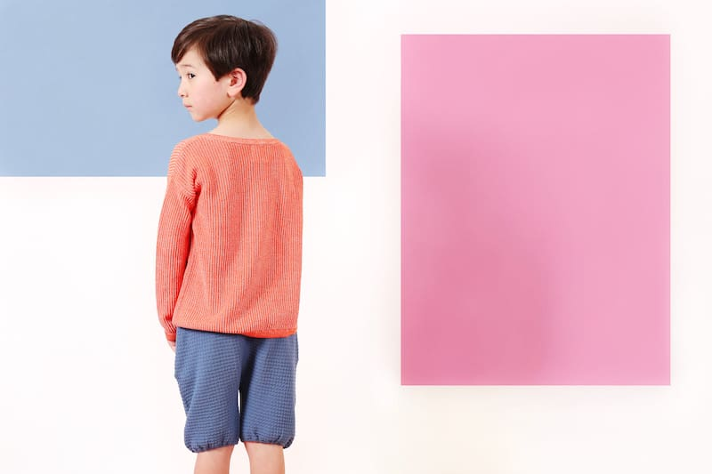 Knit Planet ss18 - modern knitwear for stylish little ones