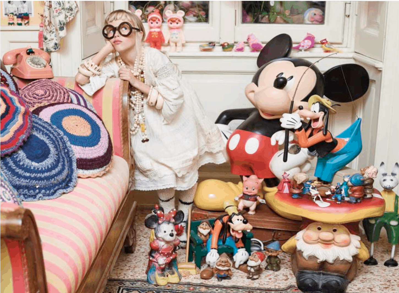 Adele Gandola's fairytale home
