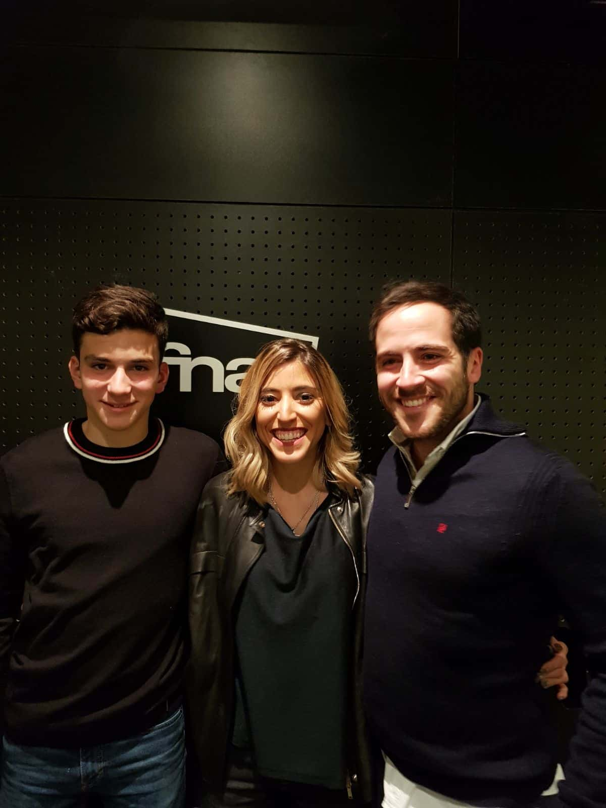 Bea with her brothers David and Daniel