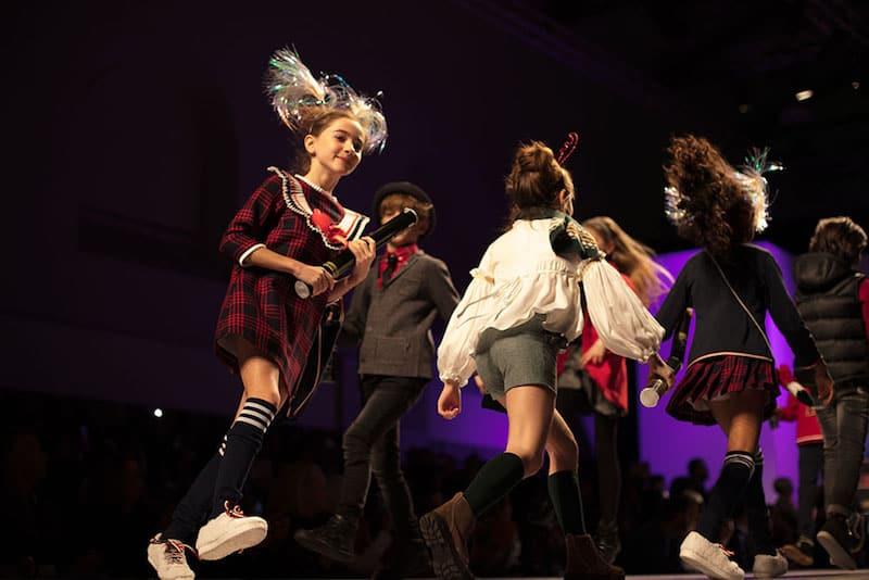 kid's fashion AW18 - Forque at kid's fashion from Spain runway show at Pitti Bimbo 86