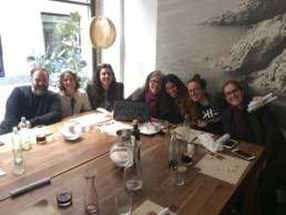Clare, Cristina & Little Creative factory team