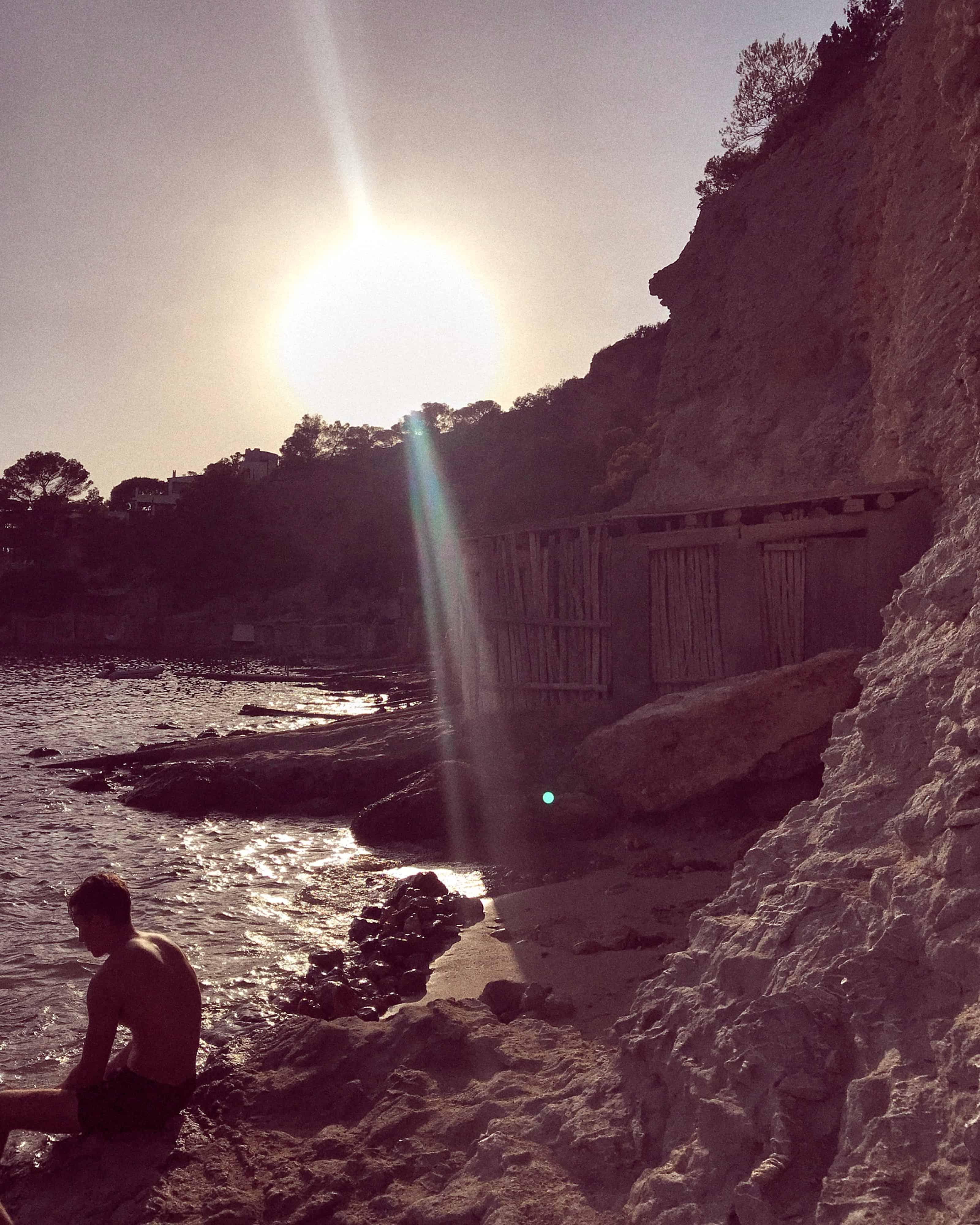 Zoe Adlersberg - summer spent in Ibiza