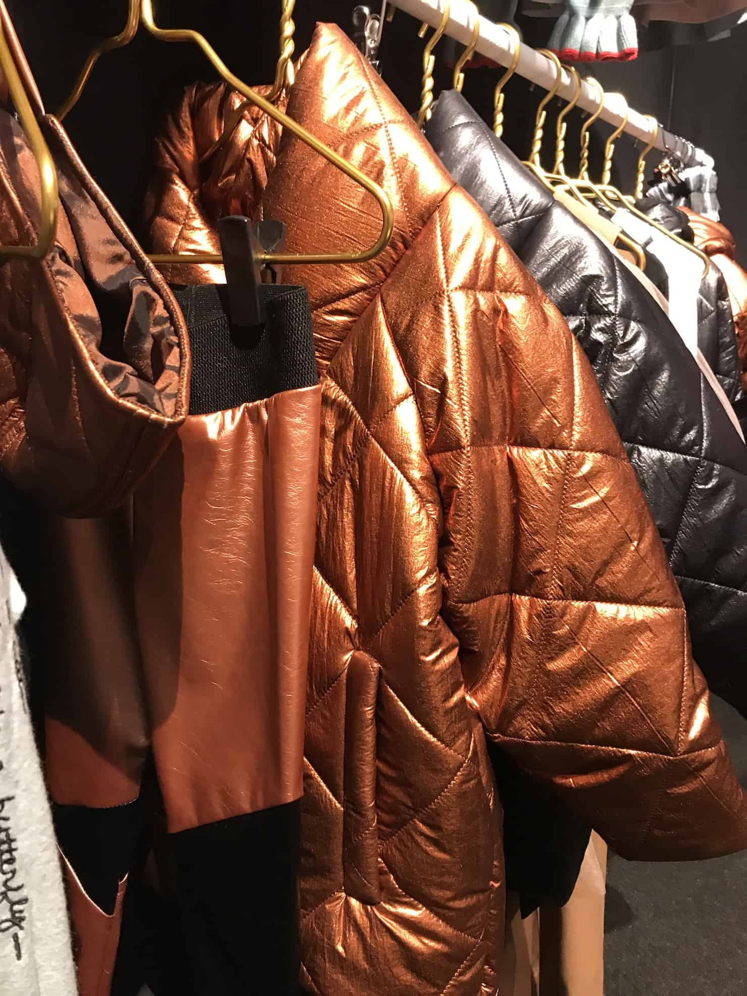 Pitti Bimbo 88 - metallic trends orang rust