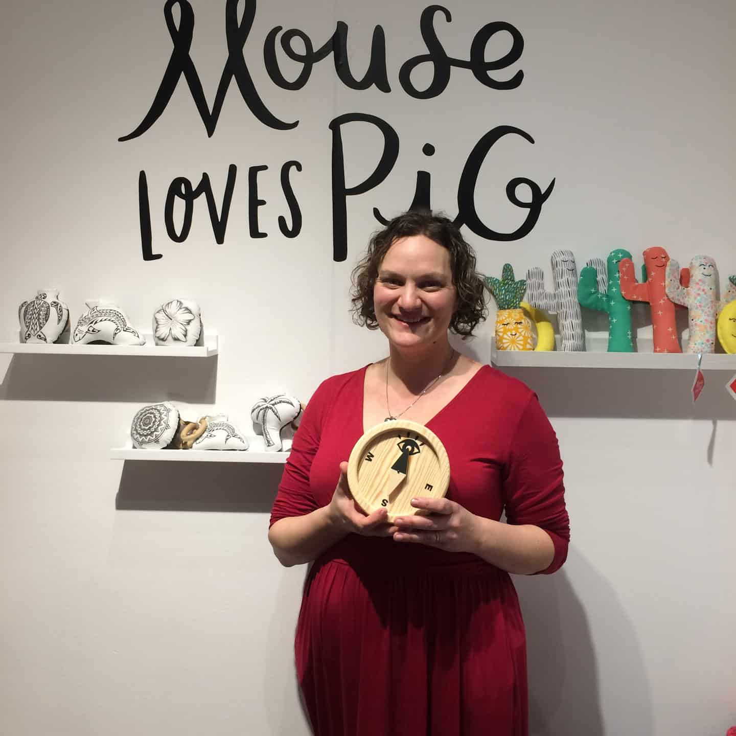 Mouse Loves Pig One to Watch Award winner for design at Playtime New York
