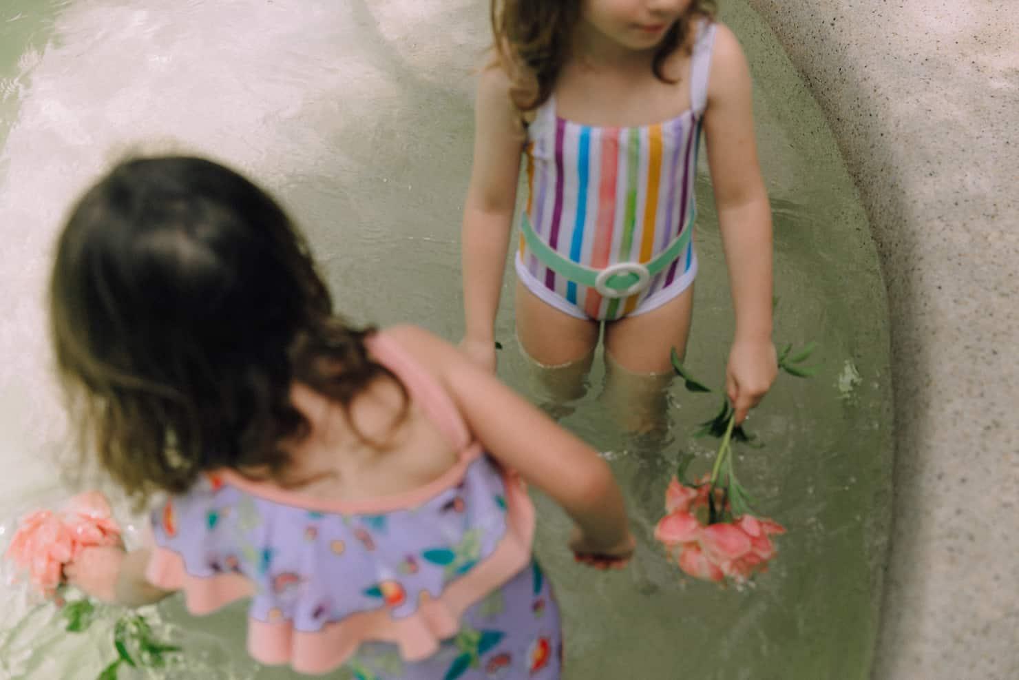 Velveteen clothing SS19, swimsuits