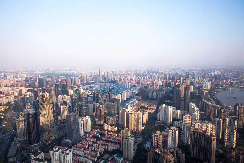 Shanghai cityscape. Photo by Adam Morse
